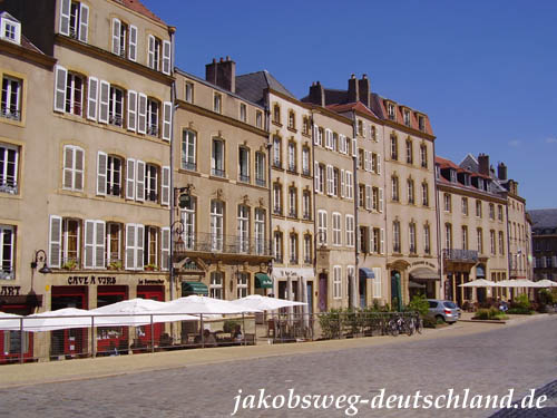 Place des Chambres in Metz